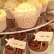 Chocolate, lemon & orange cupcakes